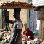 Ein Brotverkäufer