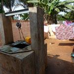 Wasserversorgung und Wäscherei