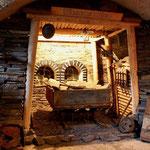 Im Untergeschoß erwartet den Besucher der Nachbau eines Stolleneinganges.
