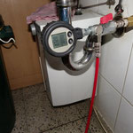 Druckprobe Trinkwasserleitung