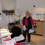 Die gute Seele des Teams Christine Tilsner