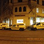Notdiensteinsatz bei Nacht