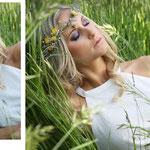 *Frühlingszauber*  Model: Sina Strähl // Haare/ Make-up / Haarschmuck: Linda Langensand