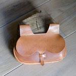 Mittelalterliche Nierentasche aus butterweichem Geschirrleder