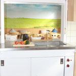 Durchreiche Küche/Messe 2