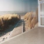 Eingangsbereich mit Fotopoint