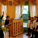 """Mardi 11 décembre Concert avec le Petit Choeur des écoles """"La Cantourelle"""""""