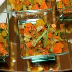 verrine aux légumes