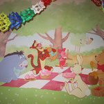 "Kinderzimmer - Children room ""Party by Winnie Puuh"""