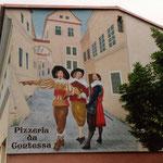 Werbung für Pizzeria da Contessa