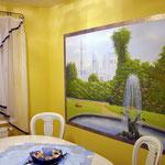 """Esszimmer - Dining room """"Orient Garden 02"""""""