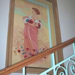 """Treppenhaus - Staircase """"Sommer"""""""