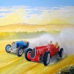 Mercedes & Alfa Romeo