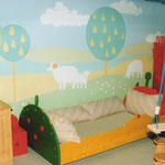"Kinderzimmer - Children room ""Schafwiese"""