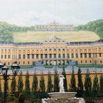 Feuermauer Gestaltung für Cafe Monarchie, Wien