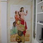 """Wohnzimmer - Living room """"Die Römerin"""""""