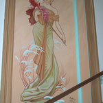 "Treppenhaus - Staircase ""Frühling"""