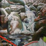"""Treppenhaus """"Wasserfälle Ysperklamm"""""""