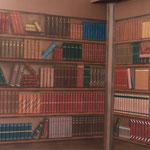 """Wohnzimmer - Living room """"Bibliothek"""""""