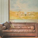 """Wohnzimmer - Living room """"Pompeii"""""""