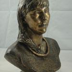 Die Bronze Büste
