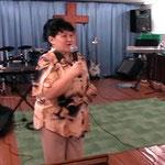 На собрании в церкви. Лучегорск