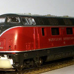Einsatz wurde gespachtelt und der selbst gefertigte Schienenräumer montiert.