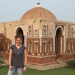 in der Anlage des Qutb Minar.