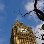 Das Wahrzeichen von London - der Big Ben