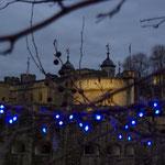 Die Bäume in London blühen nachts alle blau... :-)