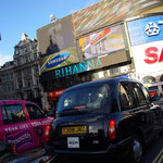 Start am Picadilly Circus