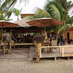 Unsere Strandbar an der Kitestation mit den besten Coco Locos