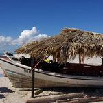 Kitestrand auf der Insel Coche