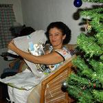 ... und Freude über die Geschenke...