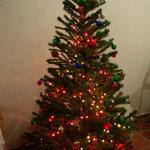 Die Geschenke warten schon unter'm Baum