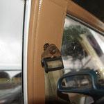 Hier mal ein Blick in das Taxi, welches uns nach El Valle gebracht hat...