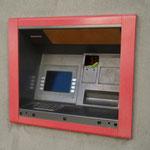 Wenig vertrauenserweckend - dieser Geldautomat...