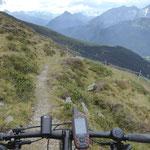 Trails vom Geißeljoch.