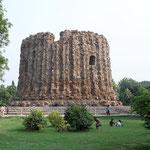 Dieser Turm sollte noch gewaltiger werden, wurde aber nie fertiggestellt.