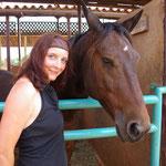 ... ich mit einem lieben Pferd...