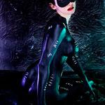 bodypaint catwoman, bodypainting catwoman, bodypaint madrid, bodypainting madrid, cosplay catwoman, catwoman sexy, fotografo bodypaint