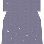 「友禅小花散らし」・紫