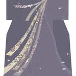 「熨斗」・古代紫
