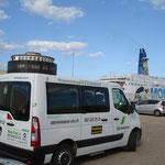 Das treue Transportvehikel der Firma Steinemann Kleinbus AG...