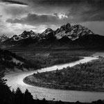NOMBRE DE LA IMAGEN: Snake River. AUTOR: Ansel Adams. AÑO: 1942.