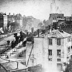 NOMBRE DE LA IMAGEN: Boulevard du Temple. AUTOR: Louis Daguerre. AÑO: 1838.