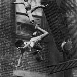 NOMBRE DE LA IMAGEN: Fire on Marlborough Street. AUTOR: Stanley J. Forman. AÑO: 1975.