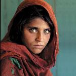 NOMBRE DE LA IMAGEN: La niña Afgana. AUTOR: Steve McCurry. AÑO: 1984.