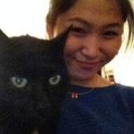 黒猫ちゃんと