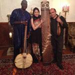 アルゼンチン・ガンビア・日本の異色異国トリオ New Sounds